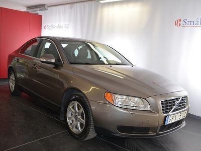 begagnad Volvo S80 2.0 Flexifuel Kinetic 145hk, 1 ägare, Dragkrok, Vinterdäck