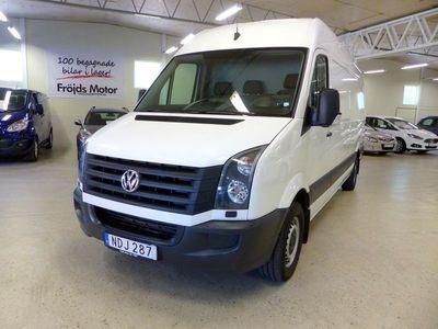 gebraucht VW Crafter 35 Skåp TDI 6-växlad AC 3-sitsig Lång 432 Hög Dra 2016, Transportbil 244 500 kr