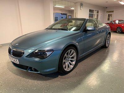 begagnad BMW 650 Cabriolet i / Svensksåld!