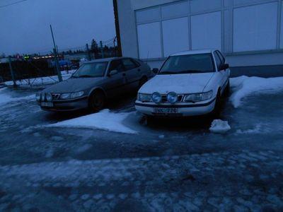 begagnad Saab 900 5-dörrar GÖR DET SJÄLV BIL