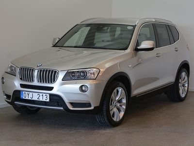 begagnad BMW X3 xDrive35d 313hk Drag, Navi