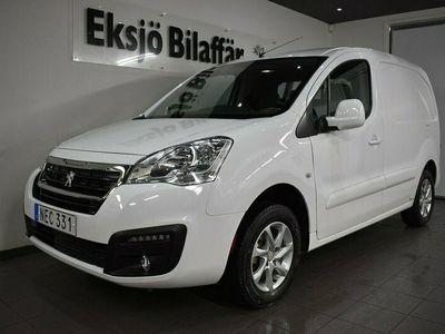 begagnad Peugeot Partner Electric Van 22.5 kWh /Vinterhjul/1600-MIL/