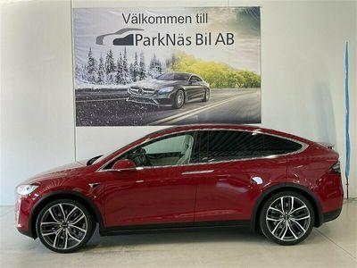 begagnad Tesla Model X 100D 4WD AUTOPILOT DRAG LUFTFJÄDRING