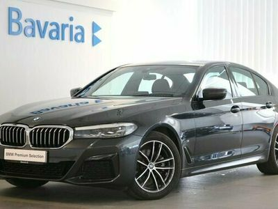 begagnad BMW 520 d xDrive Sedan M sport Drag Winter Kupévärmare HiFi 2021, Sedan Pris 442 700 kr