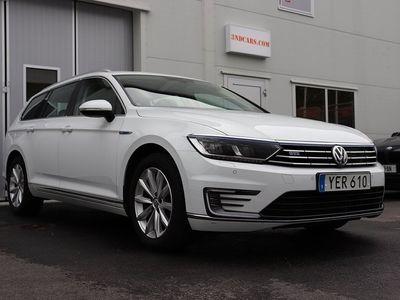 begagnad VW Passat Variant GTE PLUG-IN-HYBRID SKINN MOCKA 1.4 TSI DSG Sekven