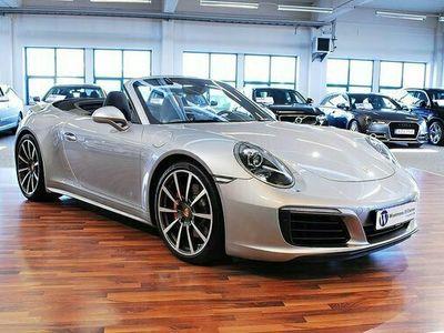 begagnad Porsche 911 Carrera Cabriolet 911 991 4S PDK Sport Chrono 2017, Pris 1 189 900 kr