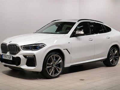 begagnad BMW X6 M50i Innovation Värmare Panorma 22'' Massage B & W