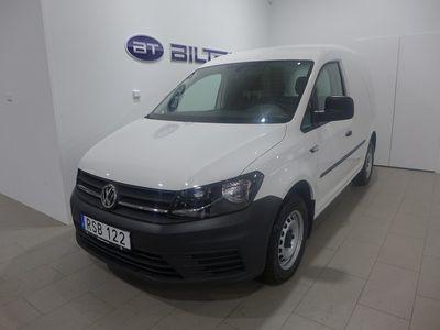 gebraucht VW Caddy TDI 102 DSG Drag Webasto Euro 6 2018, Transportbil 228 900 kr