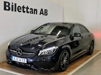 begagnad Mercedes CLA200 7G-DCT AMG Sport Euro 6