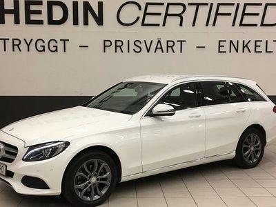begagnad Mercedes 220 Benz C D 4MATIC AVANTGARDE DRAG 2016, Personbil 214 900 kr