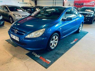 begagnad Peugeot 307 CC NY BES 2.0 136hk
