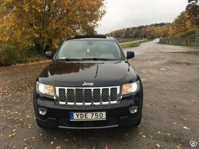 begagnad Jeep Grand Cherokee 3.0 V6 CRD 4WD Overland -13