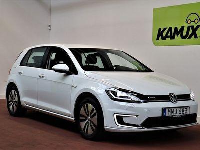 begagnad VW e-Golf 35.8kWh Plus Paket Navi