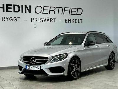 begagnad Mercedes C220 D 4MATIC AMG / D-Värmare