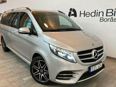 begagnad Mercedes V250 V Benz VAVANTGARDE AMG EXTRA LÅNG 4MATIC 2018, Minibuss Pris 434 900 kr