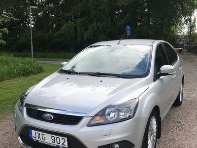 begagnad Ford Focus 1.8 Duratec Flexifuel Nybesiktad