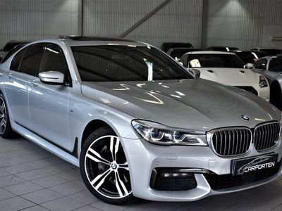 begagnad BMW 740 D X-DRIVE M-SPORT MOMS SVENSKSÅLD