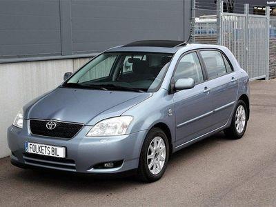 begagnad Toyota Corolla 1.6 VVT-i 110hk Taklucka 10.000 MIl