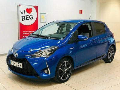 begagnad Toyota Yaris Elhybrid 1.5 Style, Vinterhjul, Motorvärmare