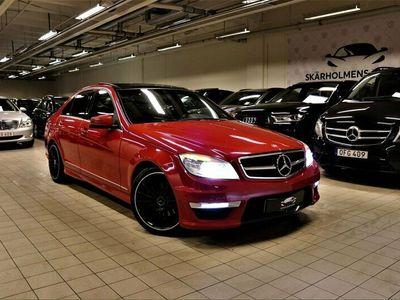begagnad Mercedes C63 AMG C 220CDIOPTIK AMG PAKET PANO SVENSKSÅLD