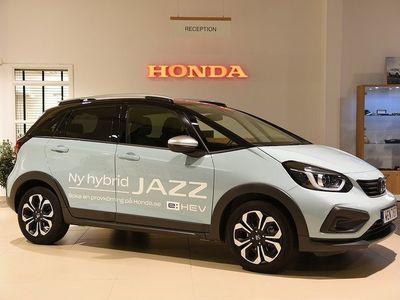 begagnad Honda Jazz 1,5 Hybrid Crosstar Executive CVT