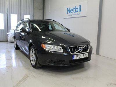 begagnad Volvo V70 2.5FT AFV Bi-fuel Kinetic Vhjul 2011, Kombi 82 000 kr