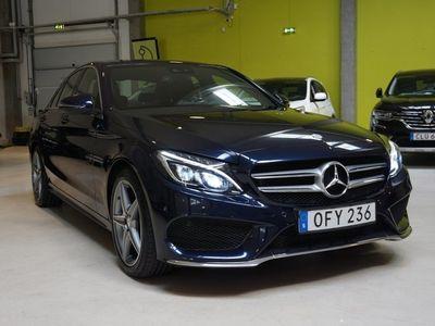 begagnad Mercedes C250 T d AMG Sport (204hk)