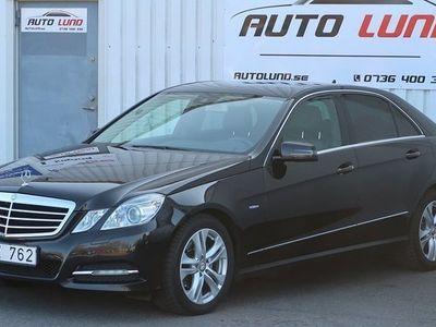 begagnad Mercedes E220 CDI BE BlueEFFICIENCY Avangarde 170hk