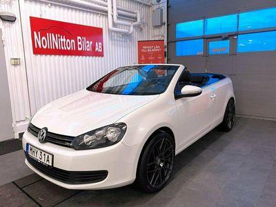 begagnad VW Golf Cabriolet 1.2 TSI BlueMotion 105hk