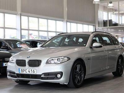 begagnad BMW 520 d Touring Sportpaket Drag Steptronic 2017, Personbil 244 000 kr