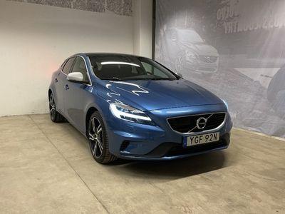 begagnad Volvo V40 T3 Aut R-Design Edt, ader, On Call, Klimatpaket, Parkeringssensor Fram Bak Kamera, Keyless Entry and Start 2019, Kombi Pris 244 500 kr
