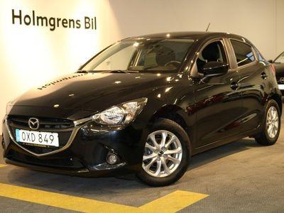 begagnad Mazda 2 1.5 90 hk 5 man Vision Navi