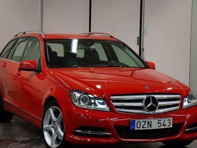begagnad Mercedes C250 CDI 4MATIC 204HK / SVENSK -13