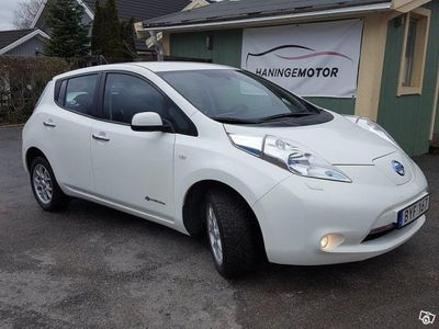 begagnad Nissan Leaf 24 kWh/AUT/4200 MIL/VANLIG EL UTT -14