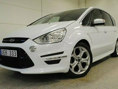 begagnad Ford S-MAX 2.0 EcoBoost Powershift 7-sits 203hk Mv