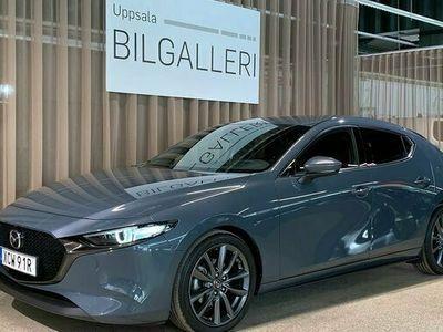 begagnad Mazda 3 5D 2,0 122hk Aut. COSMO,Sen. Modellen Skinn & El stol OMG. Lev