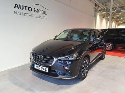 begagnad Mazda CX-3 Automat 2.0 Optimum 121 hk, Off-wh