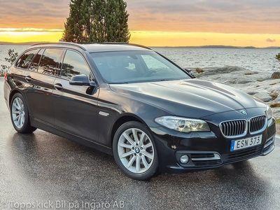 begagnad BMW 535 d xDrive (313hk) Sv-såld Euro-6 mkt extra