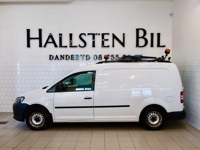 begagnad VW Caddy Maxi 1.6 TDI Aut | Drag | Mo