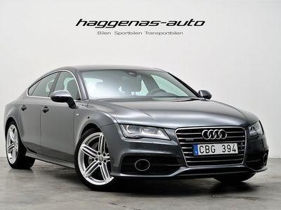 begagnad Audi A7 3.0 TDI Quattro / 313hk / S-Line