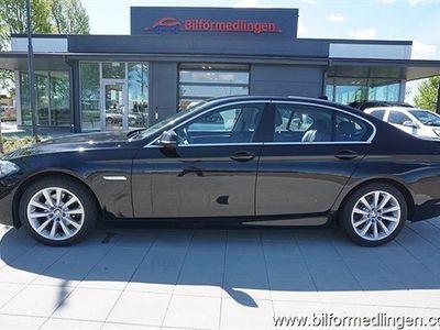 begagnad BMW 520 d xDrive Sedan F10 184hk Aut Drag Skinn Svensksåld