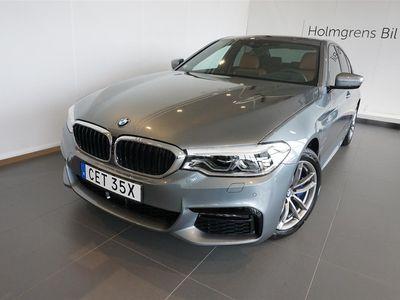 begagnad BMW 530 e xDrive Sedan M Sport Navi Nightvision Innovation Komfortstol Drag