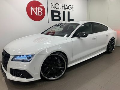 begagnad Audi RS7 B&O Nightvision V8 Quattro 560hk