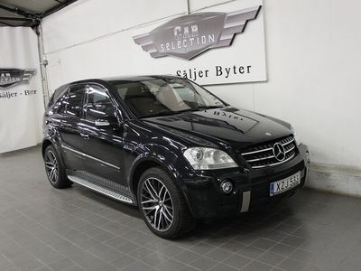 begagnad Mercedes ML63 AMG 63 AMG 4MATIC AMG SpeedShift Plus 7G-Tronic Exclusive Leather