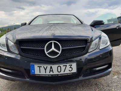 begagnad Mercedes E220 CDI Cabriolet