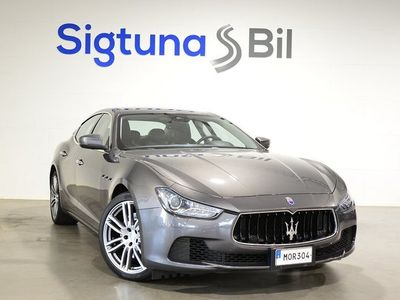 begagnad Maserati Ghibli V6 3.0d 275hk Euro 6 Automat