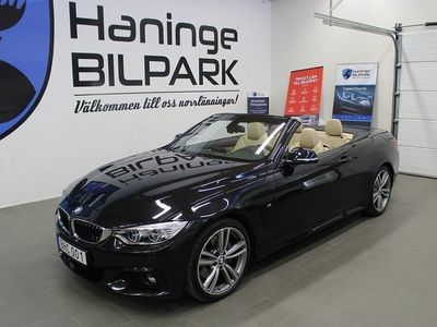 begagnad BMW 435 i Convertible CAB Steptronic M Sport