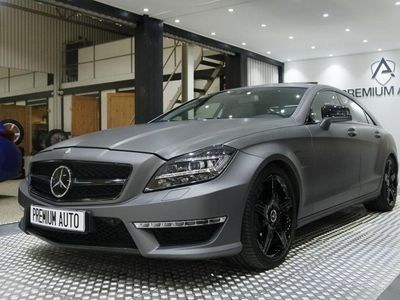 begagnad Mercedes CLS63 AMG AMG Speedshift MCT Exclusive Leather 525hk