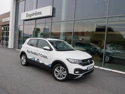 begagnad VW T-Cross - PB 1.0 TSI 95 Demo