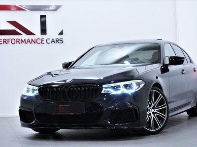 begagnad BMW M550 i xDrive Innovation H&K Taklucka HuD